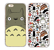 MAYCARI® Totoro in Cartoon Transparent TPU Back Case for iPhone 6/iphone 6S(Assorted Colors)