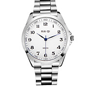 Fashion Men's Business Stainless Steel Wristwatch