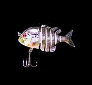 Esche rigide / Esca Esche rigide 5 g Oncia , 80 mm pollice 1 pc Pesca di mare , Porpora Plastica dura