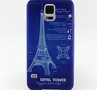 patrón eiffer pintura torre de TPU caso suave para el mini mini mini s4 / samsung galaxy s3 / s5