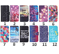 4.3 Inch Special PU Wallet Leather Case with Stand for Samsung Galaxy J1(Assorted Colors)