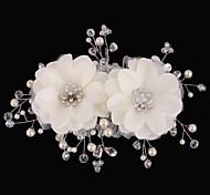 Hochzeit / Party - Haarkämme ( Krystall / Künstliche Perle / Strass )