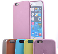 Fruit Color Original Genuine Leather Back Cover Case  for iPhone 6/6S (Assorted Colors)