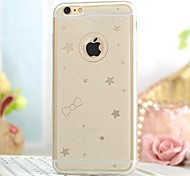 High Quality Sky Star Pattern Back Cover for iPhone 6 Plus (Assorted Colors)