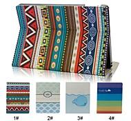 stile etnico con la funzione caso astuto della copertura del popolare e stand per ipad air (colori assortiti)