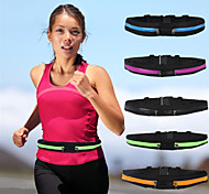 Double Pocket Waterproof Fanny Waist Bag Fitness Running Jogging Cycling Pouch Belt Purse-For Iphone6