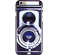 Cool Camera Pattern PC Back Cover for iPhone 6