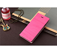 Holzmaserung Klapp-Handy Ledertaschen für iphone 6
