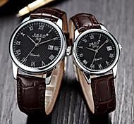 WomanAnd Men  Couples Fashion Wrist Watch