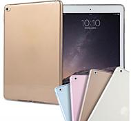 cooltra тонкий мягкий силиконовый чехол ТПУ прозрачный чехол для IPad 2 воздуха (выбор цвета)