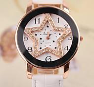 Disc Star Pattern Female Models Diamond Belt Watch (Assorted Colors)