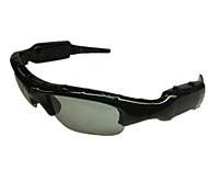 al aire libre gafas de sol de los deportes de la cámara grabadora de bicicletas dvr universales cámara en miniatura ranura sd extendió a