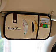 The Sun Visor Car Car With CD / CD Clip Clip Visor Sets CD Disc Clip