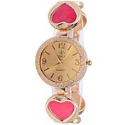 nuevas top amor de la manera mujeres relojes pulsera reloj de pulsera reloj reloj emale