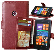 High Quality PU leather Wallet Mobile Phone Holster Case For Nokia N520(Assorted Color)