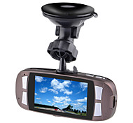 "K9 Full HD 1080P 5.0MP 2.7"" LCD Car Camcorder DVR w/ Night Vision Function – Blue + Reddish Brown"