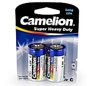 Camelion eccellente resistente dimensione di batterie di pile c (2 pezzi)