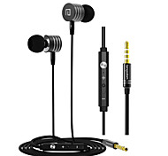 High-quality Earphone with Mic and Line Control for Samsung S4/S5/S6 and HTC Sony XiaoMi Android Phones(Assorted Color)