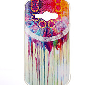 Watercolor chimes Pattern TPU Soft Case for Galaxy J1 Ace