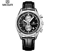 MEGIR® Fashion Men's Watches Sport Watch 2015 Top Luxury Brands Waterproof Quartz Watch Cool Watch Unique Watch