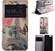 Painted PU Phone Case for iphone 6S