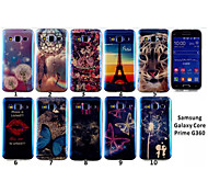 Blue Light New The Tiger Tower Butterfly TPU Cell Phone Cases Covers Soft TPU Phone Case For Samsung Galaxy Core Prime