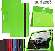 Protective Tablet Cases Leather Cases Bracket Holster for Microsoft Surface 3