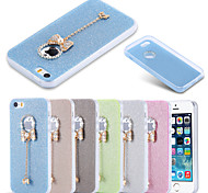 Candy Color Glitter Butterfly TPU Clear Cover for iPhone 6 Plus/6S Plus(Assorted Colors)