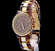 Fashion Womens Watches Gold Watches Quartz Crystal Montre Femme