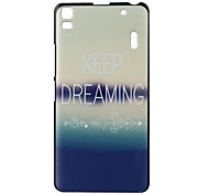 Dreaming Pattern PC Hard Cover Case for Lenovo K3 Note