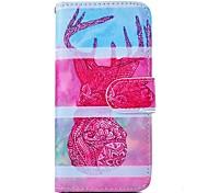 de haute qualité cas de motif de peinture de mode pour iphone 6 (couleurs assorties)