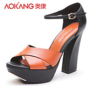 Aokang® Women's Leather Sandals - 132811176