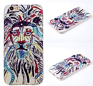 Plus iphone6 beard and painted pattern 3D mobile phone shell