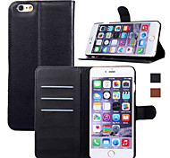 New Fashion Luxury Flip Leather Wallet Stand Phone Case Cover For iPhone 6 Plus/6S Plus (Assorted Colors)