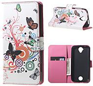Für Acer Hülle Geldbeutel / Kreditkartenfächer / mit Halterung / Flipbare Hülle / Muster Hülle Handyhülle für das ganze Handy Hülle