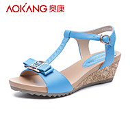 Aokang® Women's Leather Sandals - 132823661