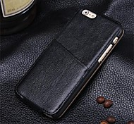 Magnetic Turned Down Leather Holster for iPhone 6 Plus/6s Plus
