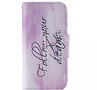 Your Dreams  Pattern Cell Phone Leather For iPhone 5/5S