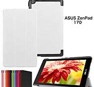 protettivo casi tablet cuoio della staffa casi fondina per Z170 asus zenPad
