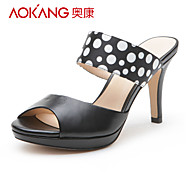 Aokang® Women's Leather Sandals - 132811106