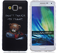 For Samsung Galaxy Case Pattern Case Back Cover Case Word / Phrase TPU Samsung A5 / A3