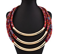 Women's Brand Style Handmake Loop Neckalce