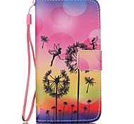 EFORCASE® Bee Painted Lanyard PU Phone Case for Galaxy S6edge/S6/S5/S4/S3/S5mini/S4mini/S3mini