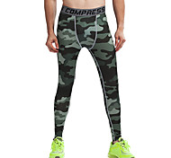 Vansydical Men's Quick Dry Fitness Bottoms Green / Red / Gray / Black