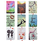 7.9 Inch Printing Pattern High Quality PU Leather Case for iPad Mini 4(Assorted Colors)