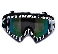 Motorcycle Motocross Ski Snowboard Protective Glasses Goggles Reflective Lens