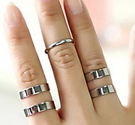 Three-Piece Joint Simple Ring