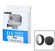 Mini Lächeln ™ Kunststoff-UV-Filter-Objektiv mit Objektivdeckel für xiaomi Xiaoyi Sportkamera - schwarz