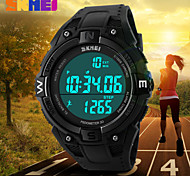 SKMEI® Men's Digital Sports Watch Pedometer / Chronograph / Alarm / Water Resistant