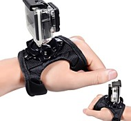 Glove Style Band Mount Wrist Strap Accessories For GoPro Hero Camera